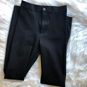 American Apparel Black High Waisted Pants XS